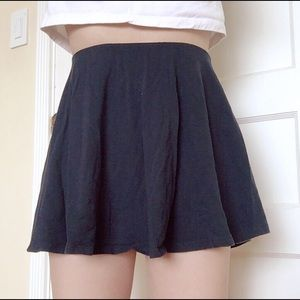 BOGO FREE Navy blue circle skater skirt